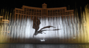 Game of Thrones s'empare des fontaines du Bellagio à Las Vegas