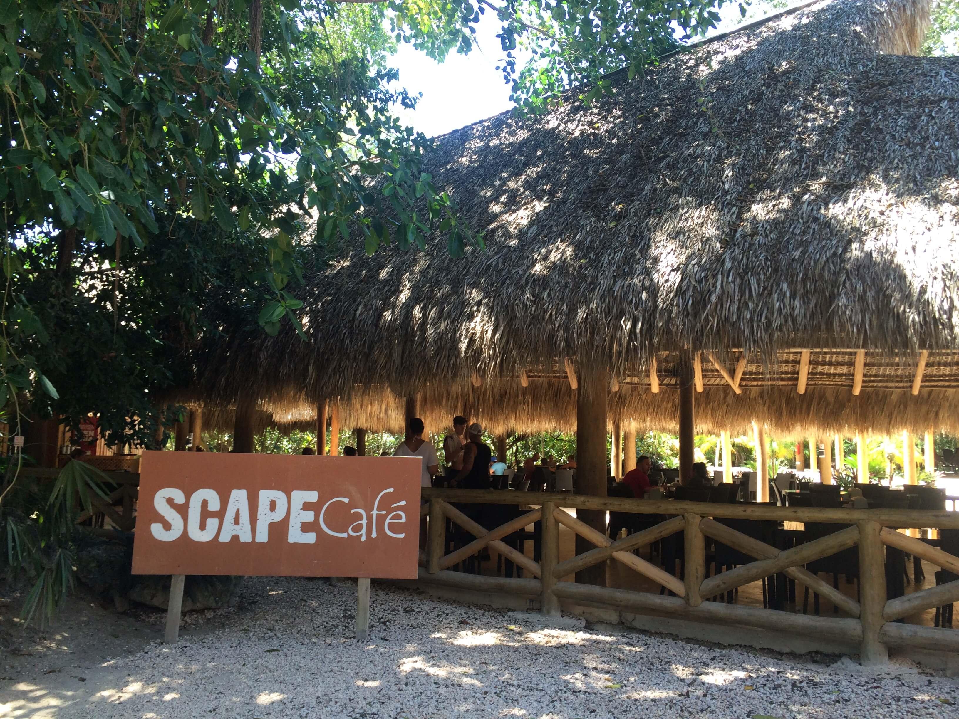 scape park at cap cana café