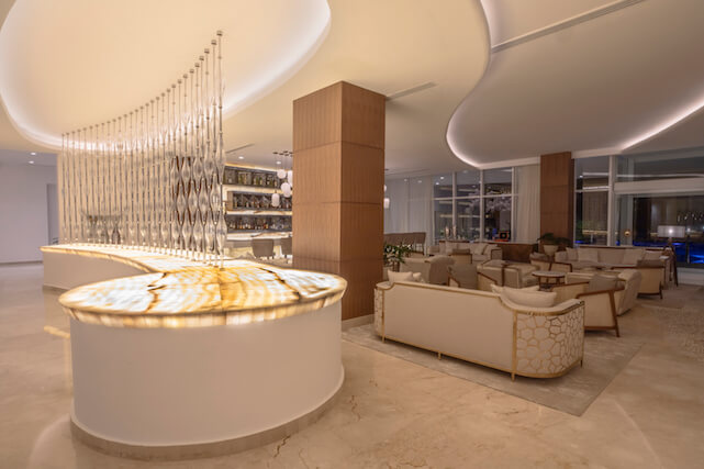 Le Blanc Spa Resort lobby