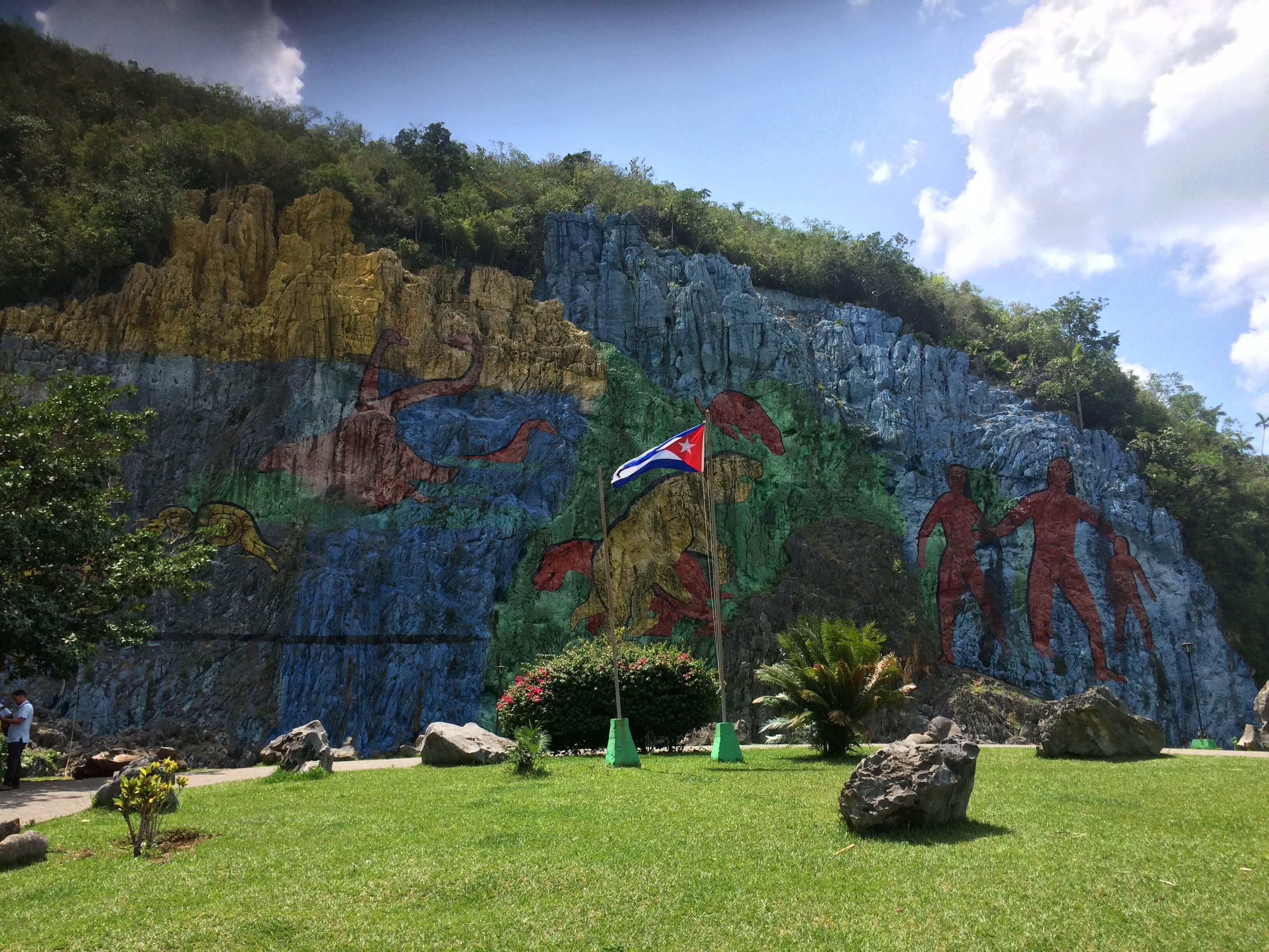 mural de la préhistoire viñales