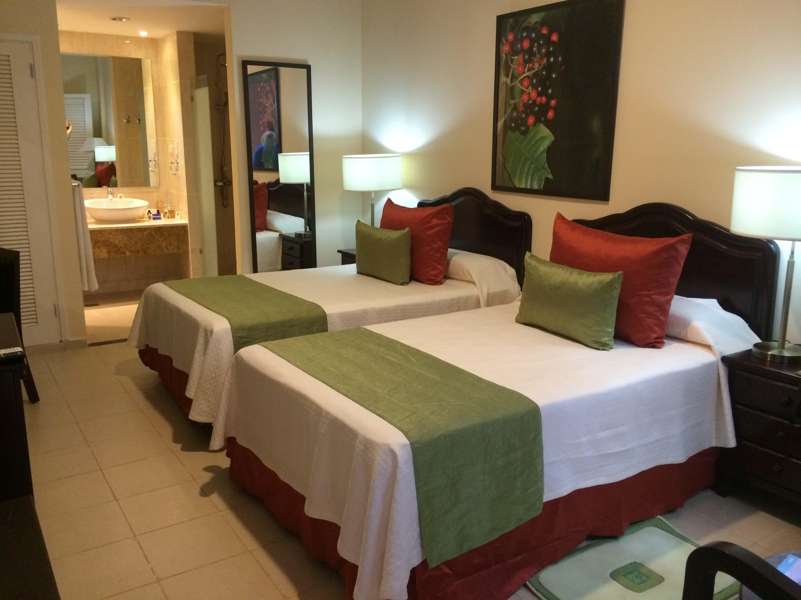 chambre hotel central vinales