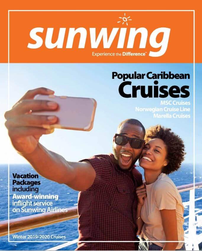 sunwing brochure 2019-2020 croisières