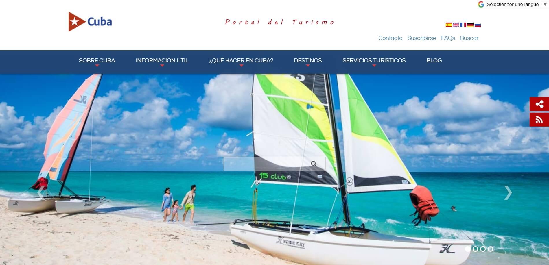 cuba travel site internet