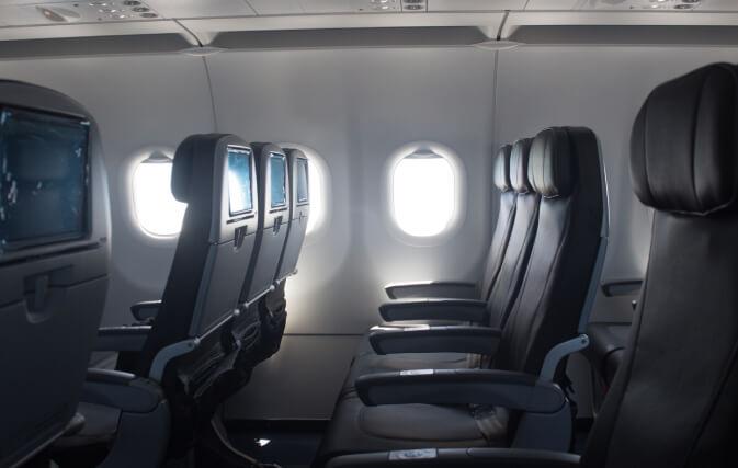 avion espace jambes