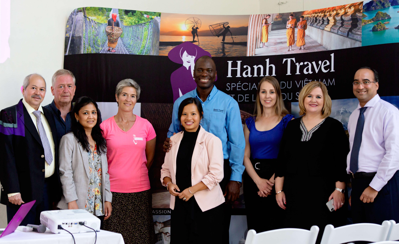 équipe hanh travel