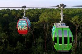Walt Disney World: découvrez les nouvelles télécabines Disney Skyliner