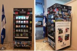 [TECHNO] Cette machine distribue des guides de voyage et c'est une première dans l'industrie!