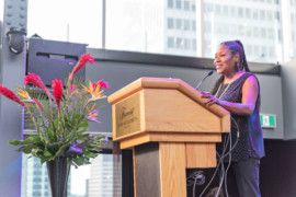 Muriel WILTORD, Directrice Amériques du Comité Martiniquais du Tourisme, reçoit la légion d'honneur française