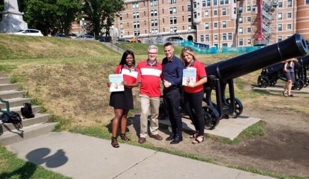 Vacances Air Canada fait la tournée des agences dans la région de Québec et lance un concours!