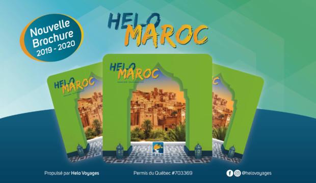 Helo Maroc présente sa nouvelle brochure avec des circuits originaux et offre une formation gratuite aux agents