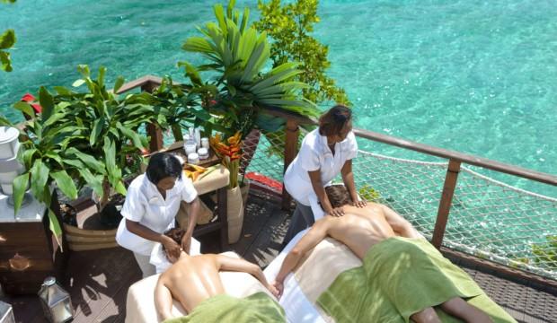 Beaches Turks & Caicos offre des massages à faire en couple!