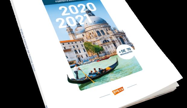 Groupe Voyages Québec dévoile sa nouvelle brochure 2020-2021 avec plus de 70 nouveautés!