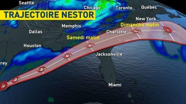 La Floride dans la mire de la future tempête Nestor