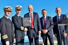 Le navire NCL Encore vient d'être livré et fera son voyage inaugural le 24 novembre