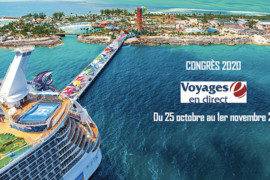 Voyages en Direct tiendra son congrès 2020 à bord de l'Oasis of the Seas