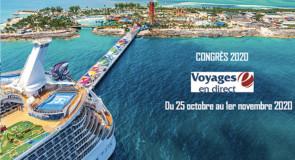 Voyages en Direct tiendra son congrès 2020 à bord de l'Oasis of the Seas