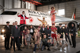 Air Canada et le Cirque du Soleil annoncent un partenariat international