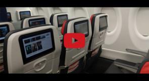 [VIDÉO] Découvrez le tout nouvel avion A220 d'Air Canada