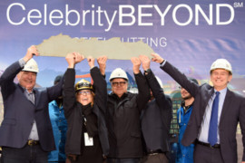 Celebrity Cruises annonce le lancement de la construction du Celebrity Beyond