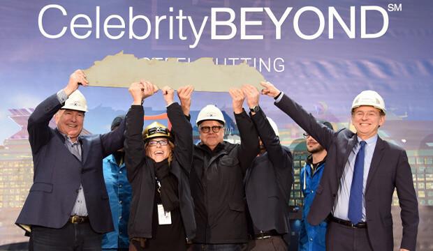 Celebrity Cruises annonce le lancement de la construction du Celebrity Beyond