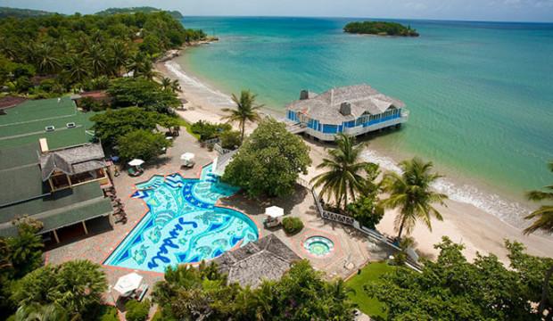Sandals Halcyon Beach: service aux chambres inclus pour toutes les chambres Club