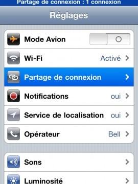 Synchroniser un iPhone
