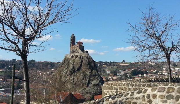 Le Puy-en-Velay, un départ de St-Jacques de Compostelle