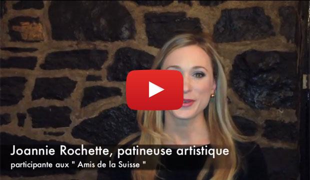 « Les Amis de la Suisse » fièrement représentés par Joannie Rochette