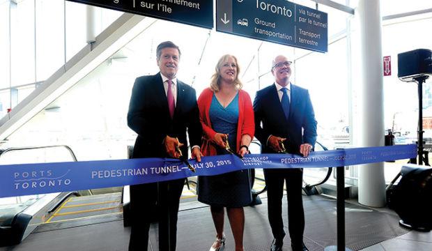 Porter: nouveau tunnel piétonnier à Toronto