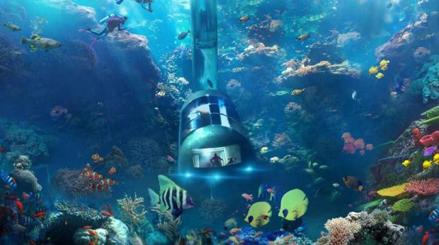Tourisme sous marin: Un hôtel écologique pour protéger les coraux