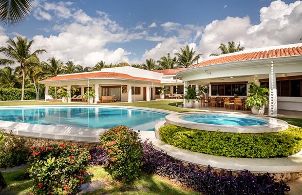vue du resort casa de campo en république dominicaine