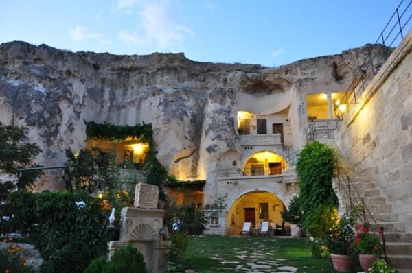 hotel dans une grotte Elkep Evi Grotte en turquie