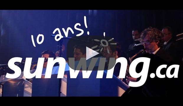 [Sunwing] fête ses 10 ans en vidéo