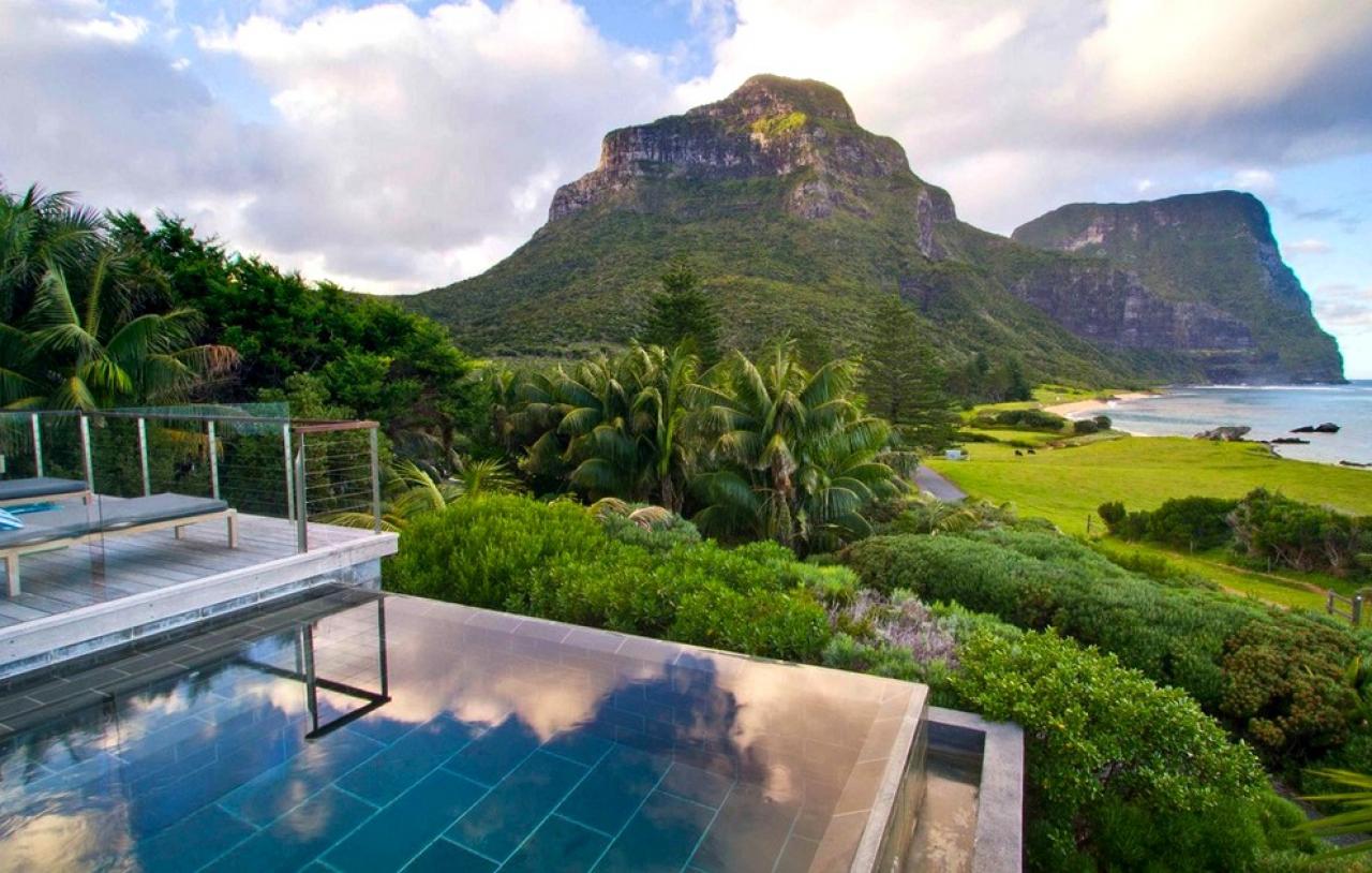 hotel paradisiaque en australie