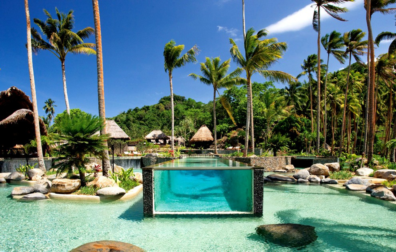 hotel paradisiaque aux iles fidji