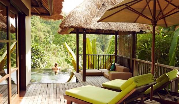 Dormir dans Les Jardins Suspendus d'Ubud à Bali