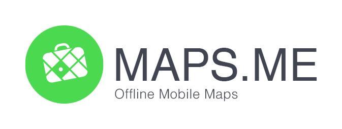 LISTE DES APPLICATIONS MOBILES POUR LES BALADES MOTO MAPS.ME_logo