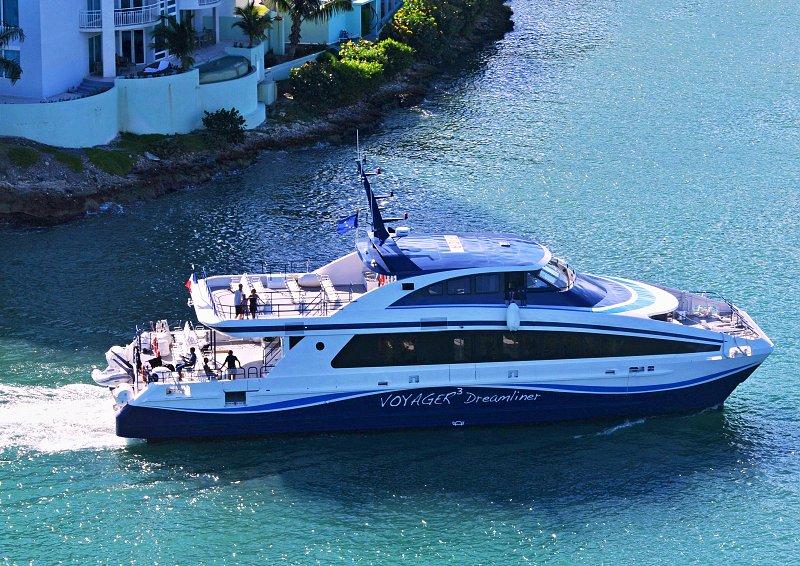le bateau Voyager