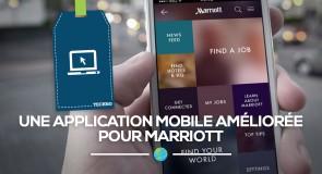 Une application mobile améliorée pour Marriott