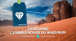 [Jordanie] Le sable rouge du Wadi Rum