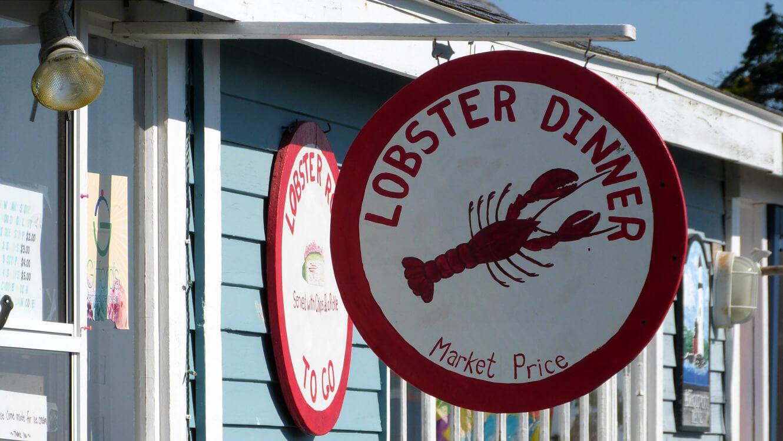 Lobster Portland Dinner
