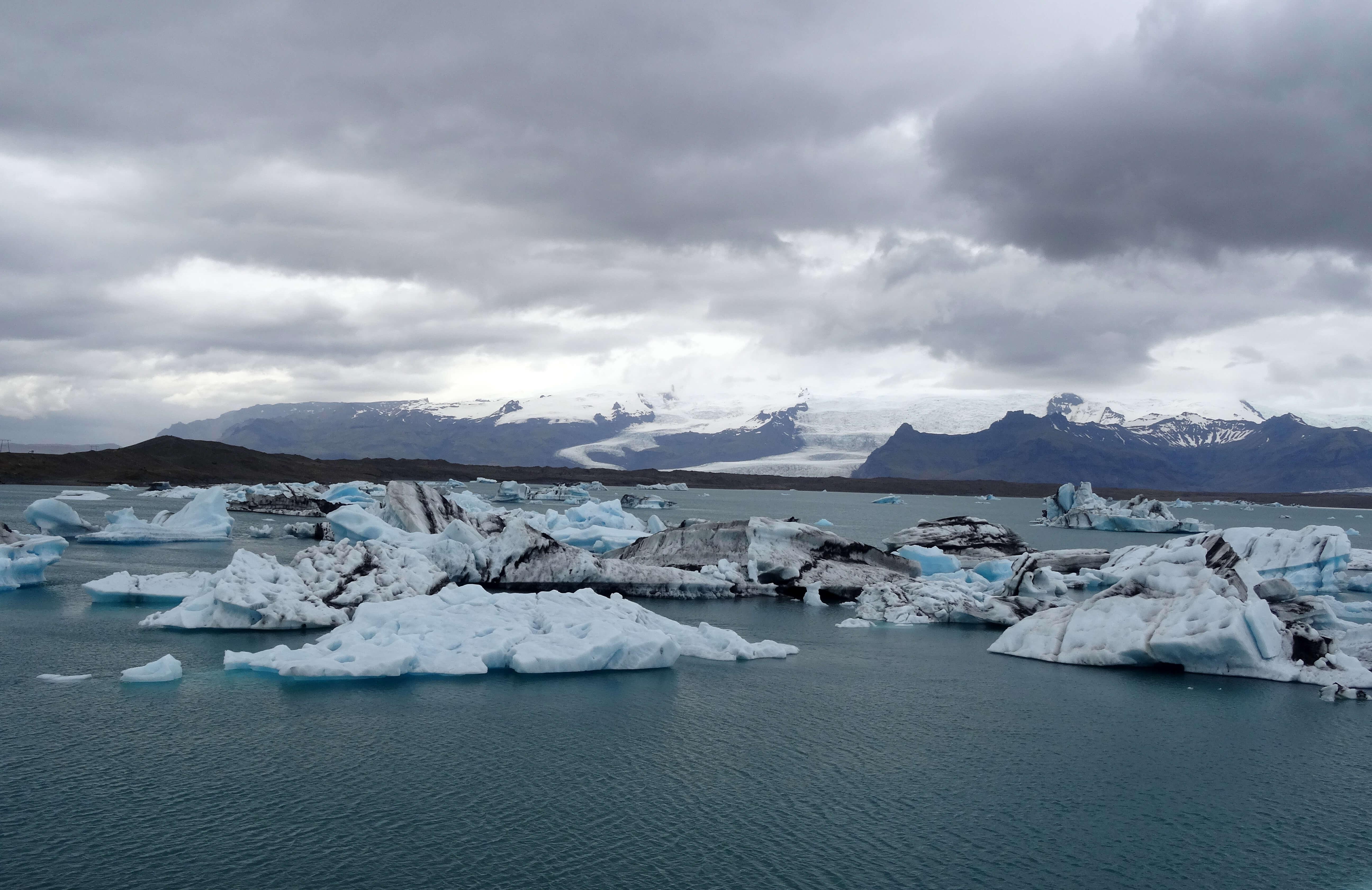 Jokullsarlon Islande
