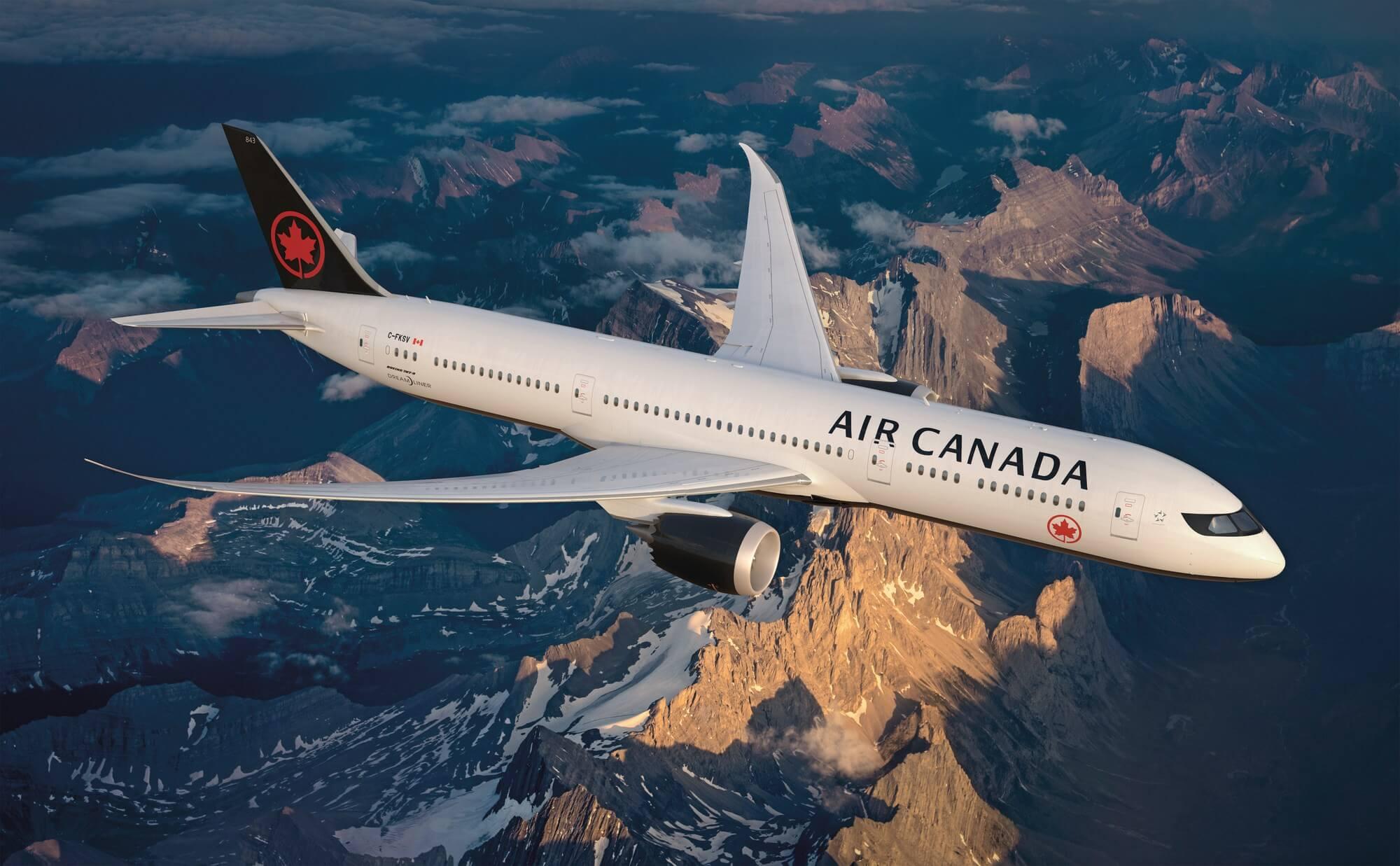 Air Canada Bucarest et Lisbonne