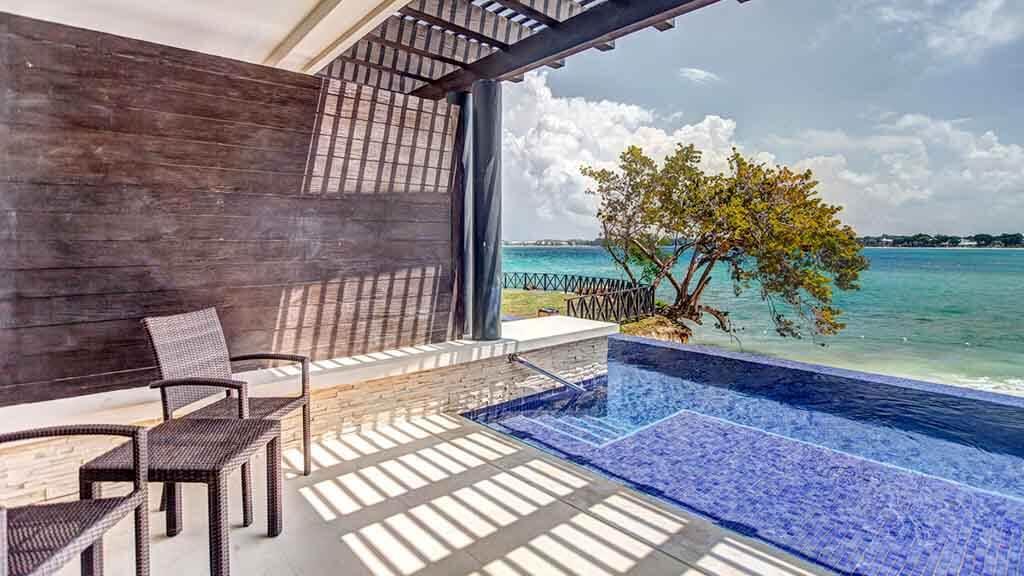 chambre avec piscine negril royalton jamaique