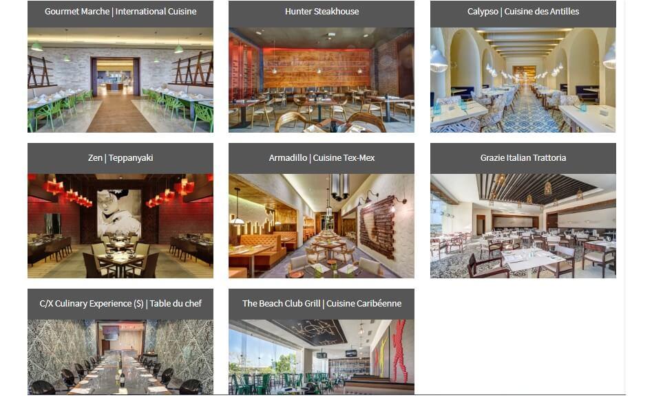 restaurants negril royalton jamaique