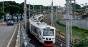 Nouvelle liaison ferroviaire entre le centre-ville et l'aéroport international de Jakarta
