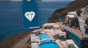 Île grecque d'Amorgos: parfaite pour le yoga