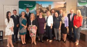 L'Office de tourisme de l'Irlande était en visite à Montréal suite à l'annonce de nouveaux vols directs