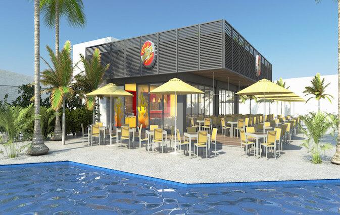 Planet Hollywood Beach Resort Cancun burger joint