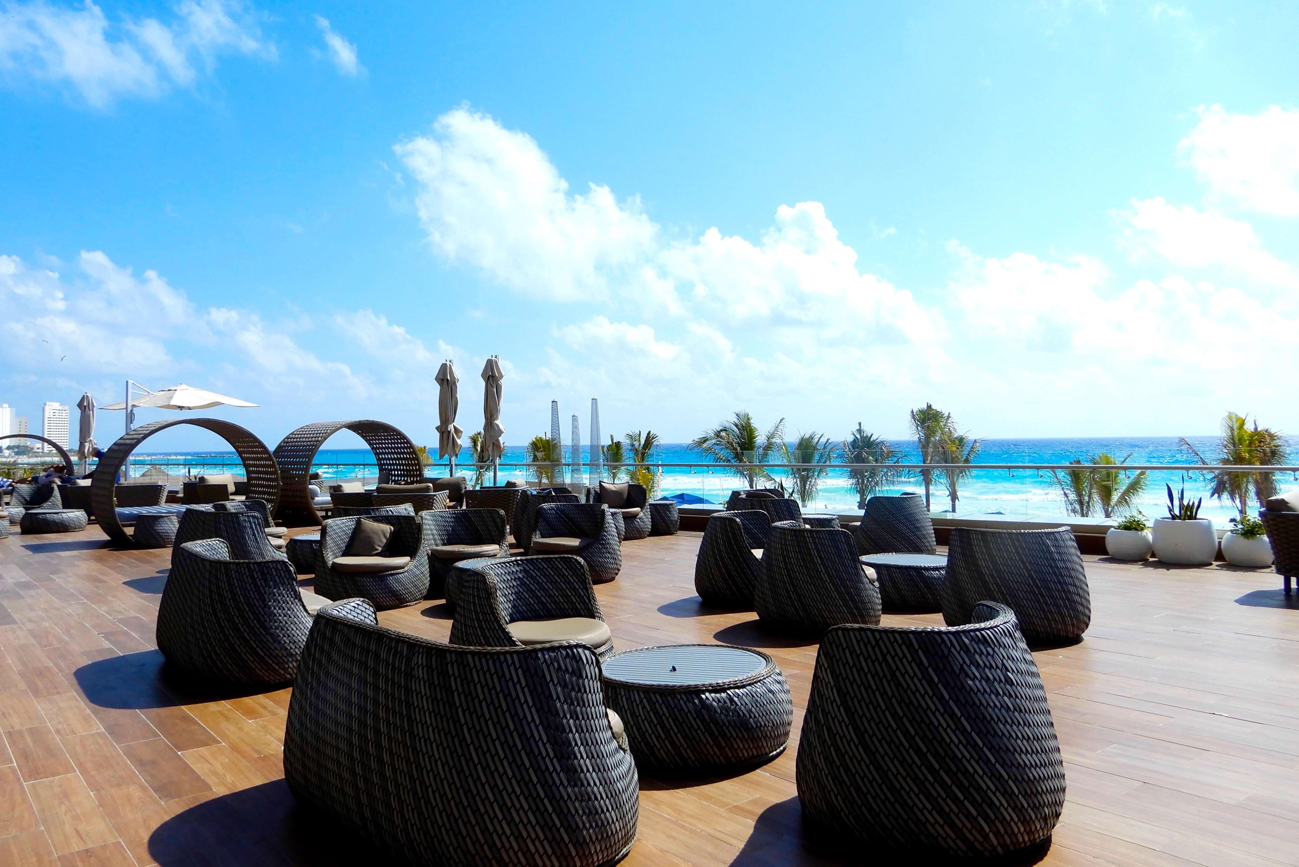 Royalton Suites Cancún Resort & Spa terrasse